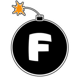 Pic of bomb with the letter F