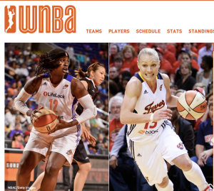 Photo Credit: WNBA